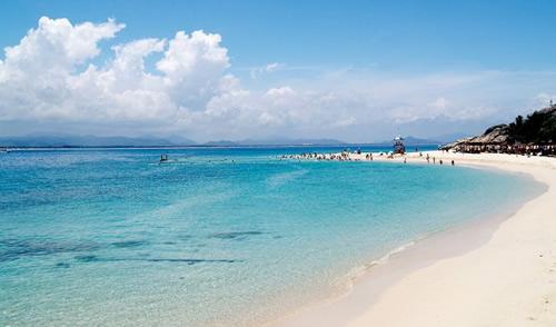 蜈支洲岛沙滩
